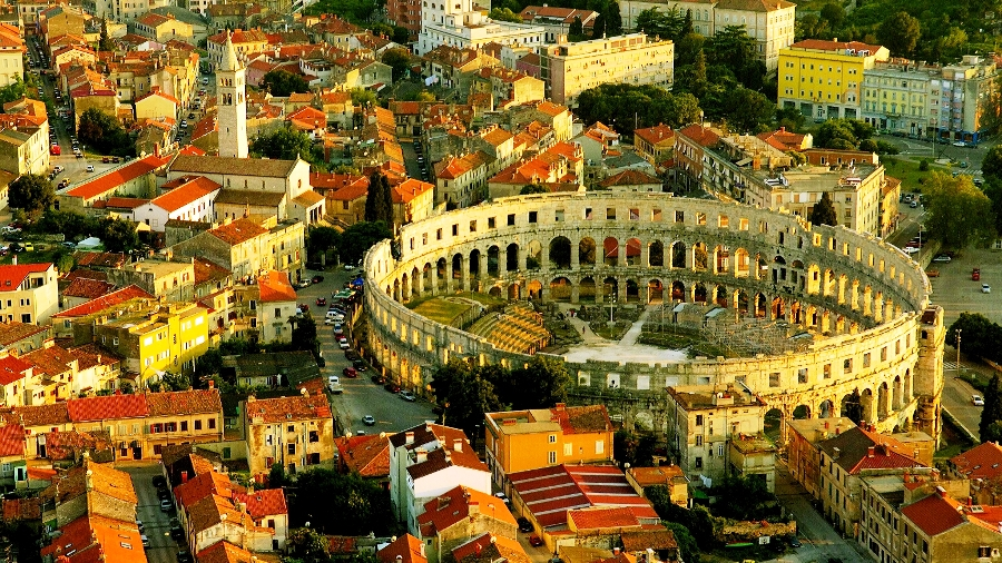 Pula Roman Coliseum with Cheese & Olive Oil Tasting